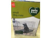 Dog crate suitable for beagle or spaniel size