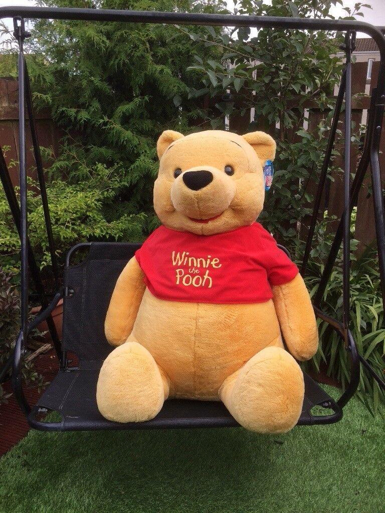 5838ed234b11 Giant Winnie the Pooh Bear ..44 inches tall