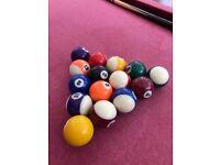 Used 7x4 foot American Pool table