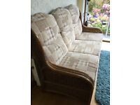 Conservatory furniture plus FREE lamp table and TV/coffee table in pine.