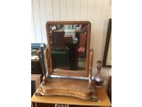 Mahogany Dressing Table Mirror Size W 24 in D 11 in H 28 in Feel free to view.