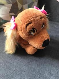 Lucy dog toy