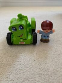 Fisher-Price Little People Farmer & Tractor Figure/Vehicle set (brand new)