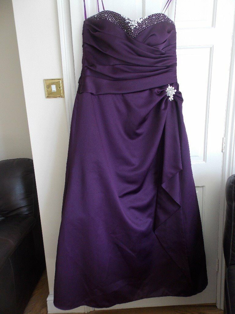Formal evening dress/Ball gown /prom/cruise/wedding size 18 | in ...