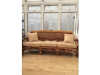Conservatory rattan suite