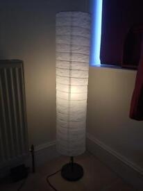 IKEA white floor lamp