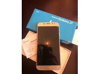 Samsung Galaxy J7 (2017) Dual sim (Gold) - barely used - unlocked