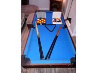 5ft x 2.5ft Ronnie O'Sullivan pool table