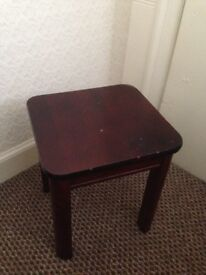 Small side table, brown