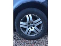 """Golf Mk4 16"""" Alloy Wheels With Pirelli Tyres 16 / 65 / R15"""