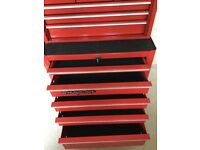 Snap on top box and roll cab
