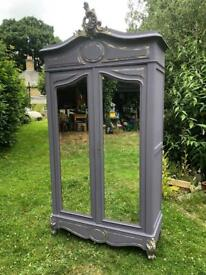 French antique armoire. Exbury