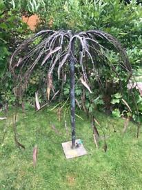 Beautiful Copper Tree Water Feature