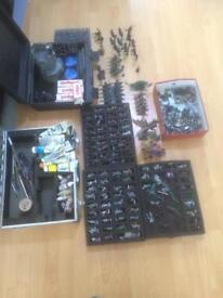 Massive Dark Elves Warhammer Army