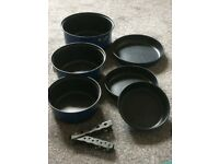 Non Stick Camping Pan Set