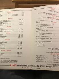 Elvis original signature