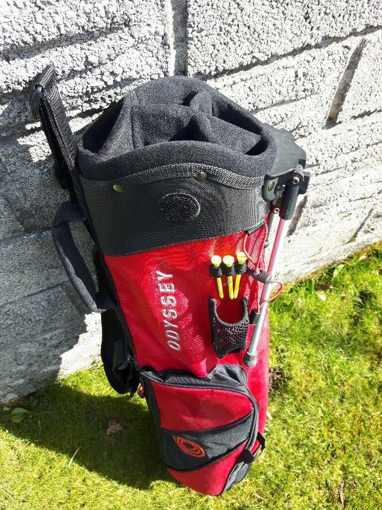 Odyssey Pencil Golf Bag c/w legs.