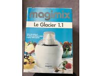 Brand new boxed ice cream maker magimix le glacier 1.1