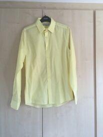 Mens / Boys Topman Yellow Shirt