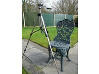 Tripod for camera or video camera or spotting scope. Perfect working order.