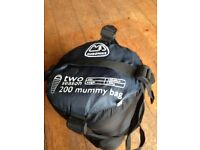 Eurohike two season mummy bag sleeping bag