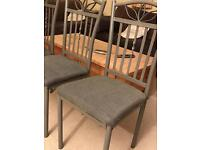 Dinning table chairs for sale x4 set