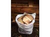 Bags of firewood £2.50