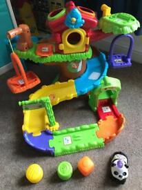 Toot toot tree house