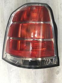Vauxhall zafira rear light