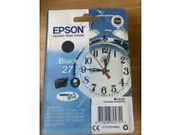 Epson black 27 ink