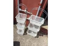 Free standing baskets