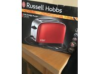 Brand new in box russell Hobbs toaster