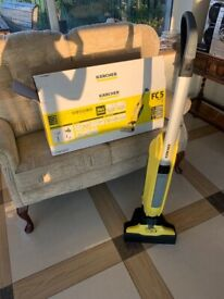 K'A'RCHER CORDLESS ELECTRIC FLOOR MOP AND VACUUM CLEANER! 2 'n' 1!