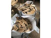 Wood. 1000kg dumpy bags