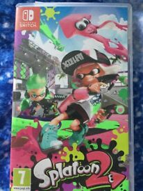 Nintendo switch Splatoon 2 game