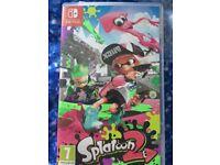 Nintendo switch Splatoon 2 game