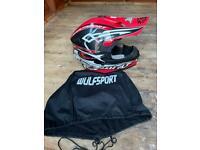 Wulfsport motox helmet