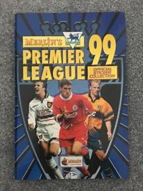 Merlin's Premier League Sticker Album 1999