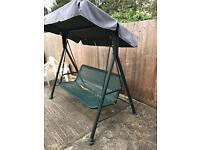 Garden hammock 3 seater garden swing chair *needs stitching*