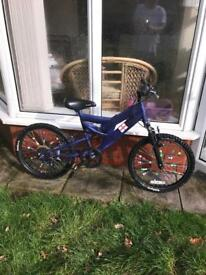 "SABRE 20"" MOUNTAIN BIKE, 5 gears, spokies, really good condition"