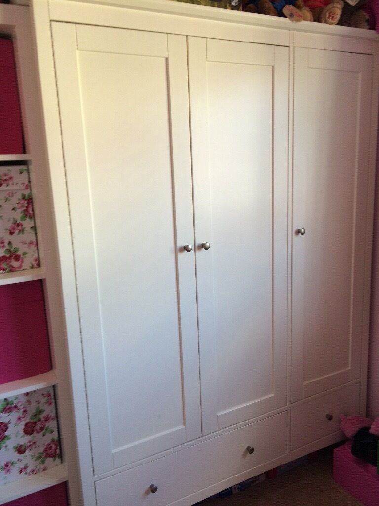 Marks And Spencer Hastings Bedroom Furniture Hastings Ivory Triple Wardrobe From Marks Spencer In Heald