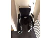 ROMA avant Wheelchair + walker with seat