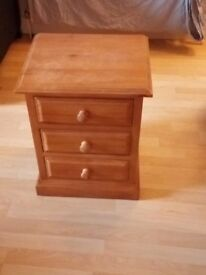 Bed side table for sale.