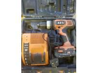 18v AEG lithium drill