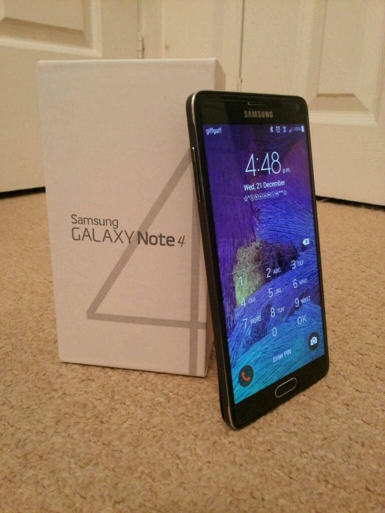 Samsung Galaxy Note 4 32GB swap for iPhone 6s plus
