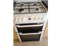 As new gas cooker