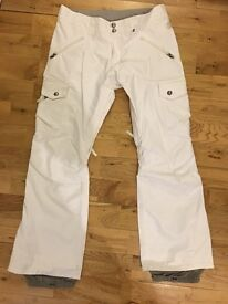 Burton Society Snowboard Pants Women Size M