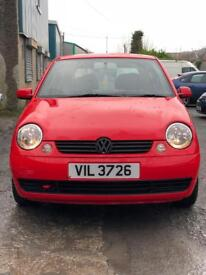 VW Lupo 1.4 16v LOW MILEAGE!