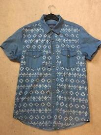 Topman Denim Shirt Medium