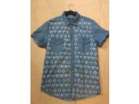 Topman Denim Shirt Medium